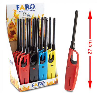 Faro - MPL aansteker - Solid Colors - Display (16-stuks)
