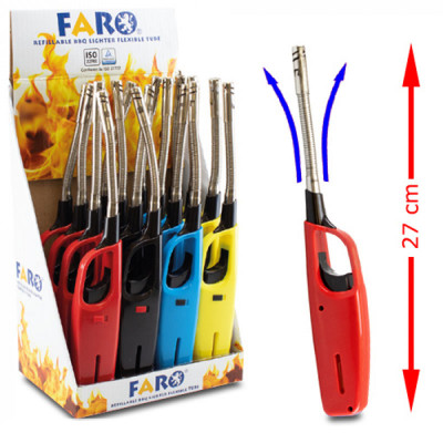 Faro - Flex MPL aansteker - Solid Colors Flex - Display (16-stuks)