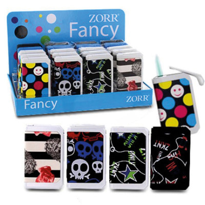 Zorr Fancy Touch - Turbo aansteker - Display (20-stuks)