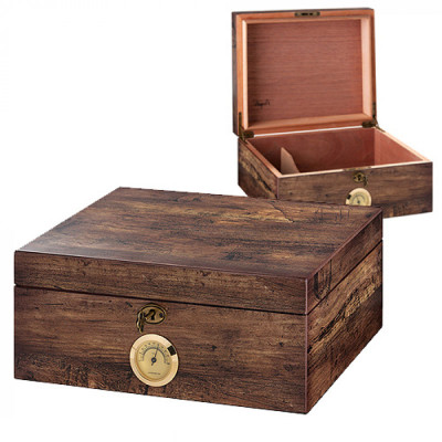 Humidor Cigar box - Antiek Look 300x240x130mm