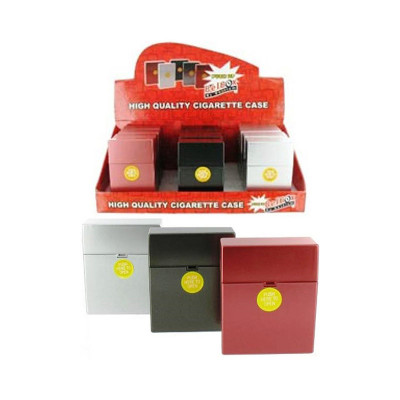 Belbox - Sig.box/huls - Plastic - 85mm - 25 Sig. - Metalic - Display (12-stuks)
