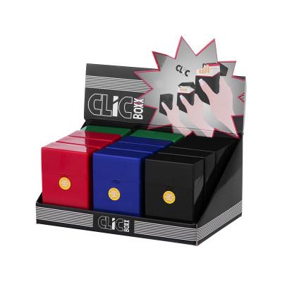 Clic Boxx - Sig.box/huls - Plastic - 85mm - 25 Sig - Multi Color - Display (12-stuks)