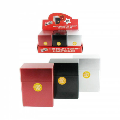 Belbox - Sig.box/huls - Plastic - 85mm - 40 Sig. - Metalic - Display (9-stuks)