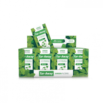 Tar-Away - Green filters 20 stuks - Display (20 St.)