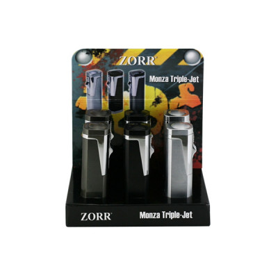 Zorr - Monza Triple jet - Display (6-stuks)