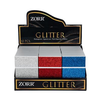 Zorr - Sig.box/huls - Plastic - 85mm - 20 Sig - Glitter - Display (12-stuks)