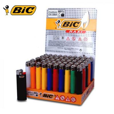 BIC Maxi J26- Wegwerp vuursteen - Display (50-stuks)
