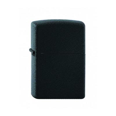 Zippo Regular - Black Crackle