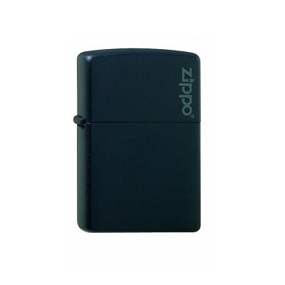 Zippo Regular - Black Matte w/ Zippo Logo