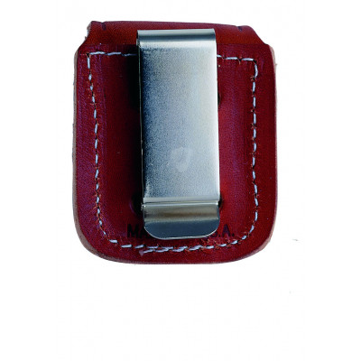 Zippo Accessoires - Lighter Pouche (Etui) - Brown Clip