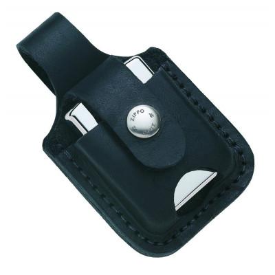 Zippo - Lighter Pouche w/ Thumb Notch (Etui) - Black Loop