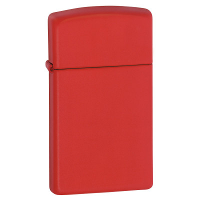 Zippo Slim - Red Matte