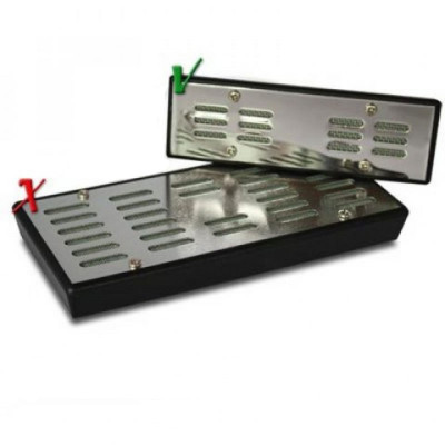 Humidor Vocht-element zilver 120x40x12,5mm