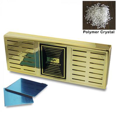 Humidor Vocht-element Polymer Goud 169x65x19 mm
