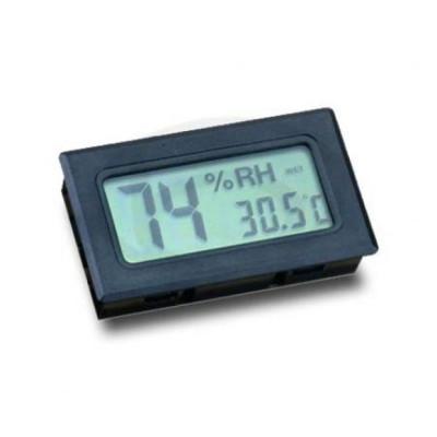Bookwill - Digitale Hygro/Temperatuur meter - Zwart 60x35x15