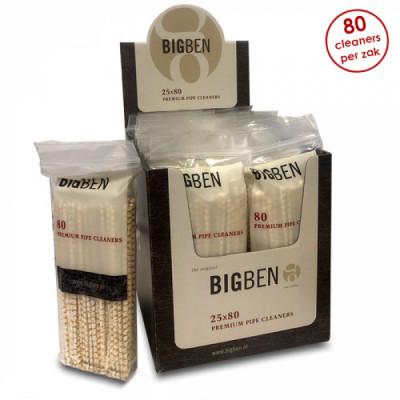Big Ben - Pijpcleaners - 80 Stuks per zakje - Display (25-zakjes)