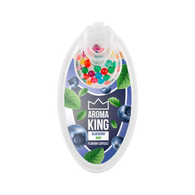 AromaKING - Flavour Capsule - Blueberry Mint (100 Capsule)
