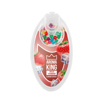 AromaKING - Flavour Capsule - Strawberry Mint (100 Capsule)