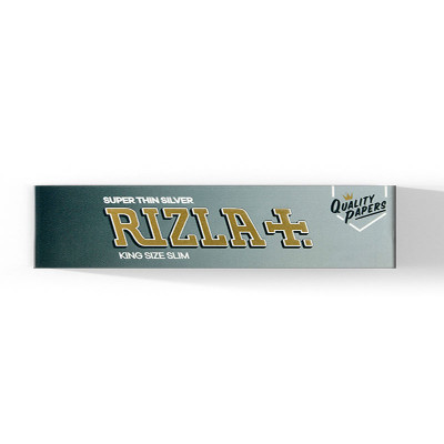 Rizla - Silver King Size Slim Booklet 32 display (50 St.)