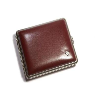 Vom Hofe Cigarette Case 18 Cig Leather