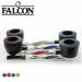 Falcon - Pijp - Twisted - Carbon Edition - Klik voor Kleur-selectie