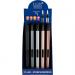 LUX Slim Long Style BBQ - MPL Aansteker - Metallic Colors - Display (25-stuks)